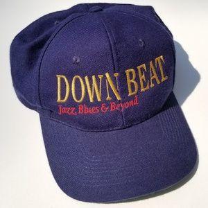 🎷🎺Vintage Jazz Music Downbeat Magazine Snapback